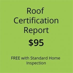 Roof Certificate Report